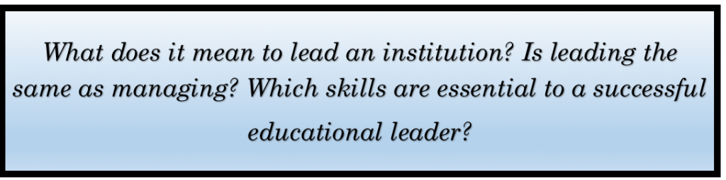 Educational Leaders